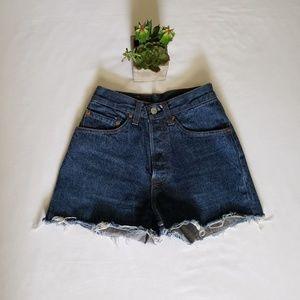 Rare Vintage 501 Levi shorts